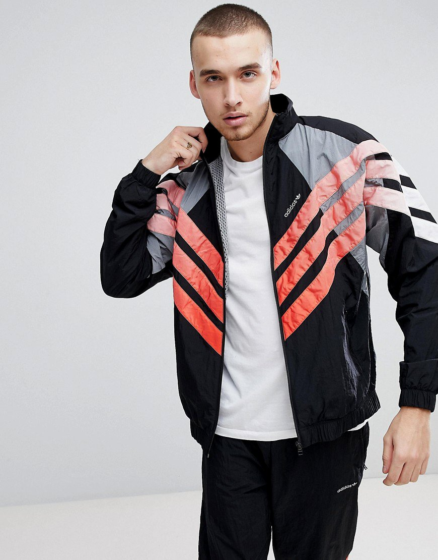 Adidas V Stripes Windbreaker