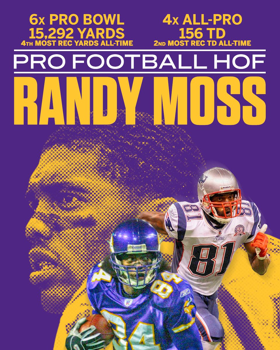 The 2018 Pro Football Hall of Fame Class: - Randy Moss - Ray Lewis - Brian Urlacher - Brian Dawkins - Terrell Owens - Jerry Kramer - Robert Brazile - Bobby Beathard