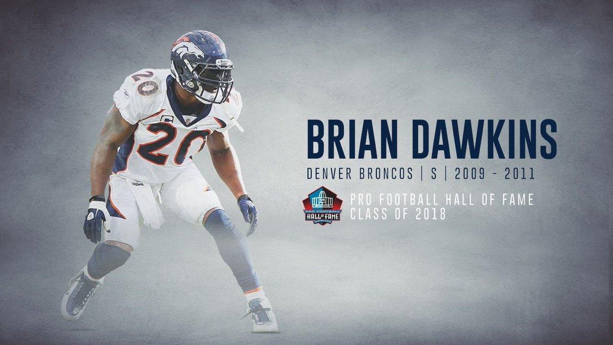 Brian Dawkins Broncos