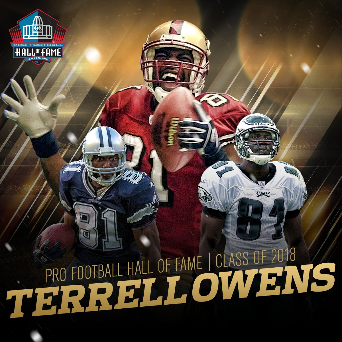 .@terrellowens is a HALL OF FAMER!  See you in Canton! #PFHOF18