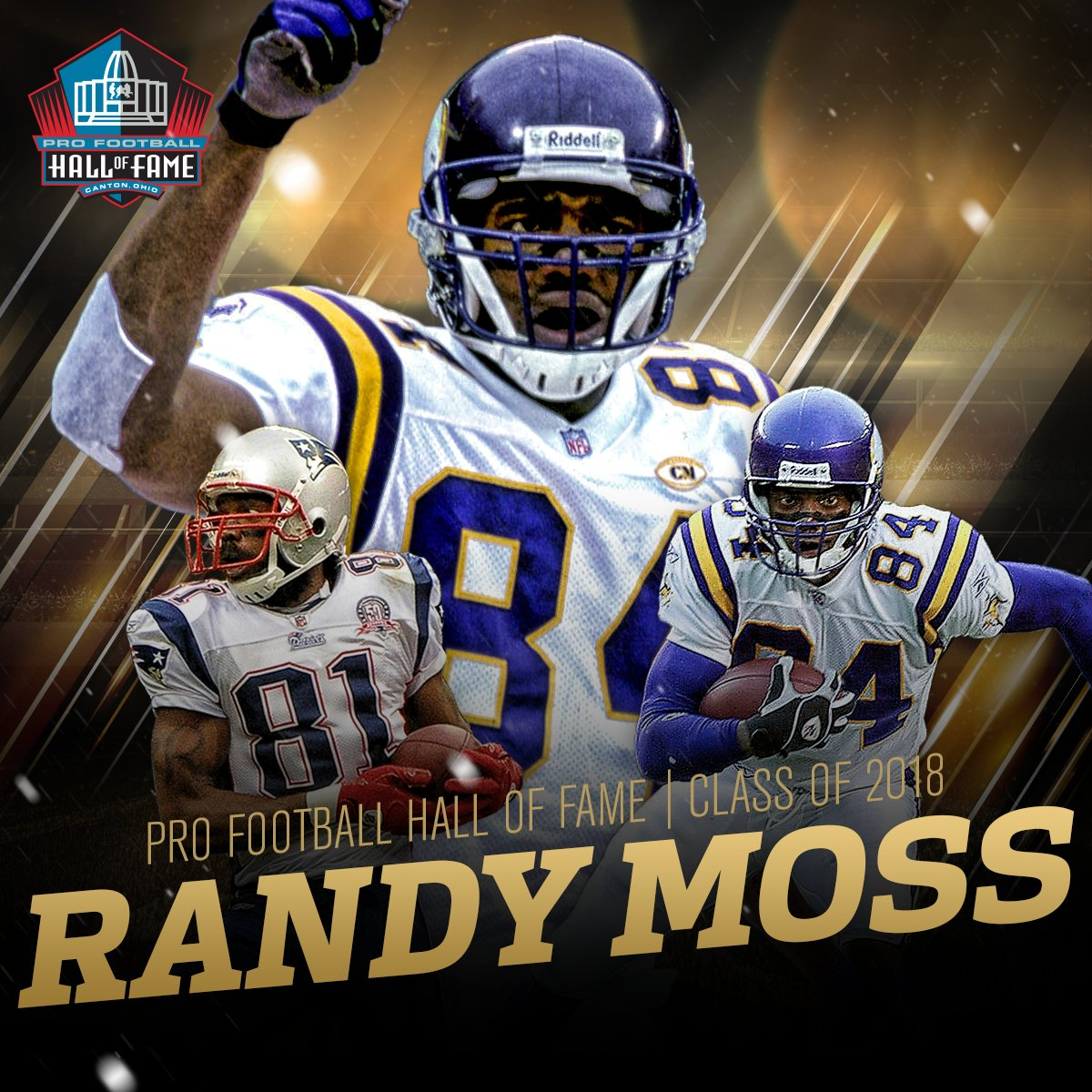 He's in!   See you in Canton, @randymoss! #PFHOF18