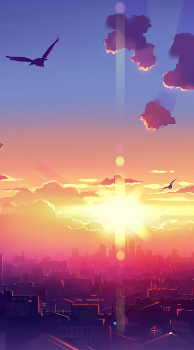 Debra On Twitter New Post Anime Hd Widescreen Wallpapers Anime Sunset Scenery Artwork Wallpaper Www Fabu Anime Wallpaper Has Been Published On Best Images Collections Hd For Gadget Windows Mac Android