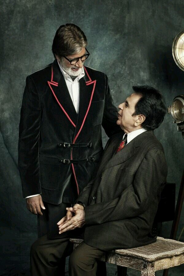 Image result for amitabh bachchan- dilip kumar