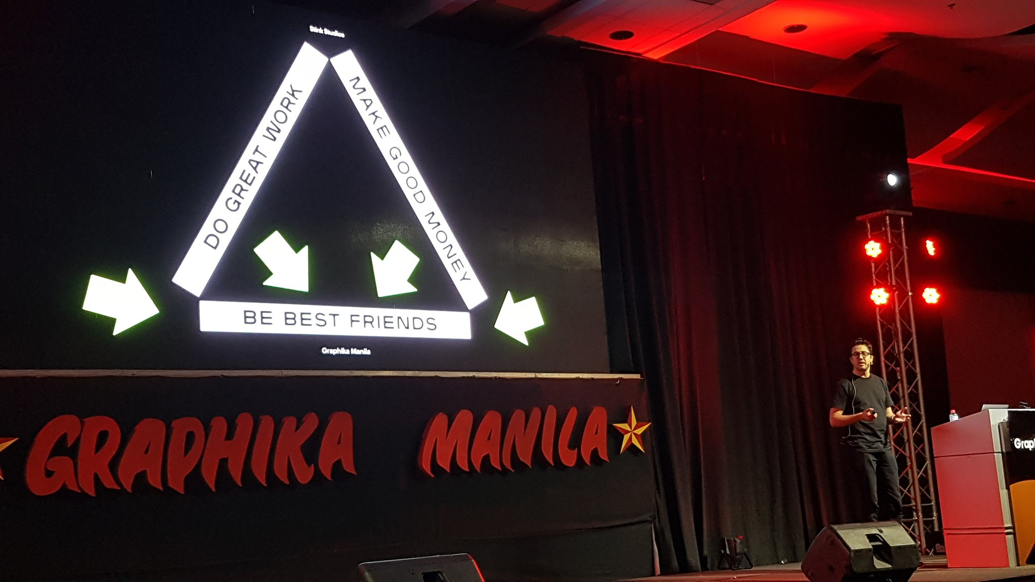 RT @adobomagazine: Ben Hughes, ECD of @stinkstudios shares what's essential for their agency. #GraphikaManila2018 https://t.co/enNjqOCXep