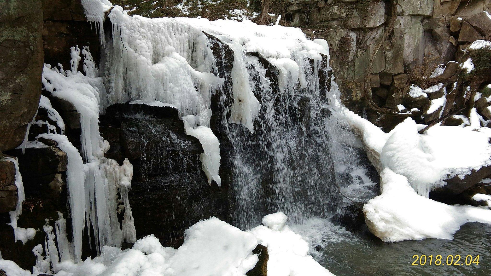 八流の滝(網の輪滝)