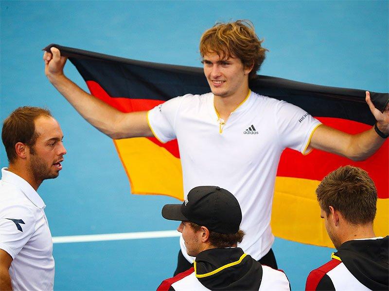 #DavisCup   #Zverev beats @NickKyrgios to seal German @DavisCup win🎾  Full story👉 https://t.co/u2mwF8fKrG