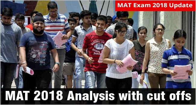 #MAT2018Analysis: Paper Based MAT has tricky DA; know the cut offs for top MBA colleges http://www.mbauniverse.com/article/id/10639/mat-2018-analysis…