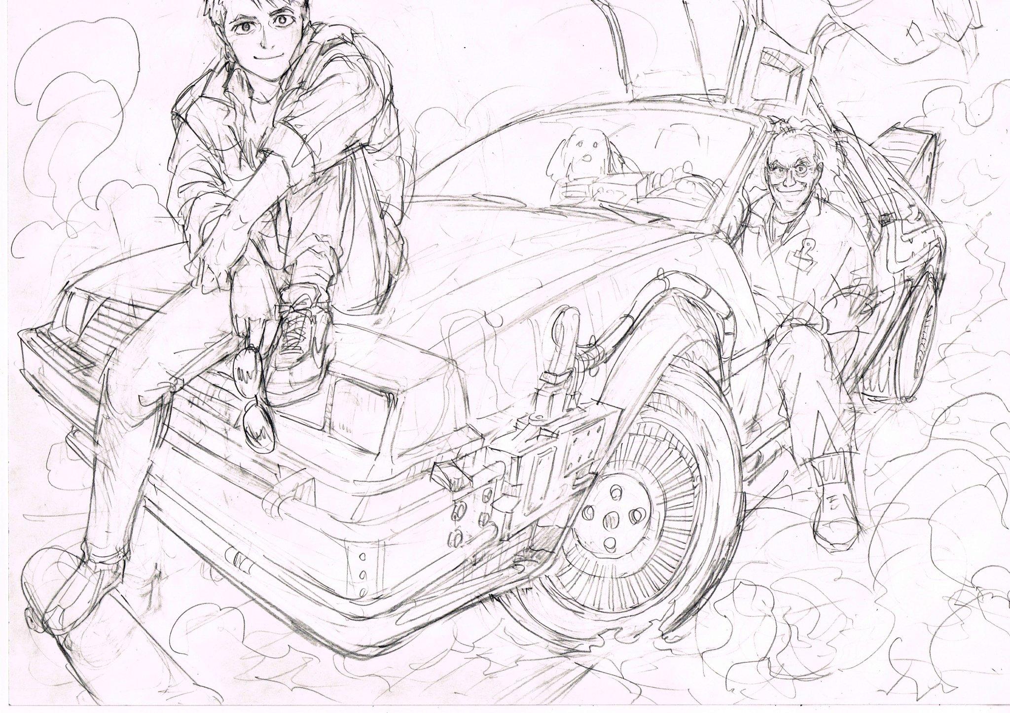 Retour vers le futur adapté en manga par Yusuke Murata ! DVLo0n8UQAEWfnQ