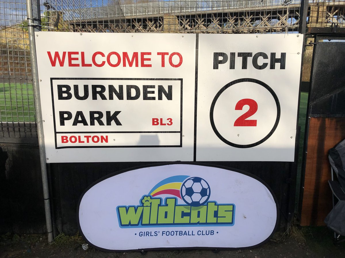 @TheBBDFL #SSEWildcats.  Today 10:00-11:30 @BurndenPark.   £2 per session.