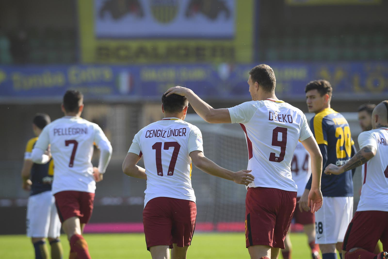 Hellas Verona vs Roma 0-1 Highlights