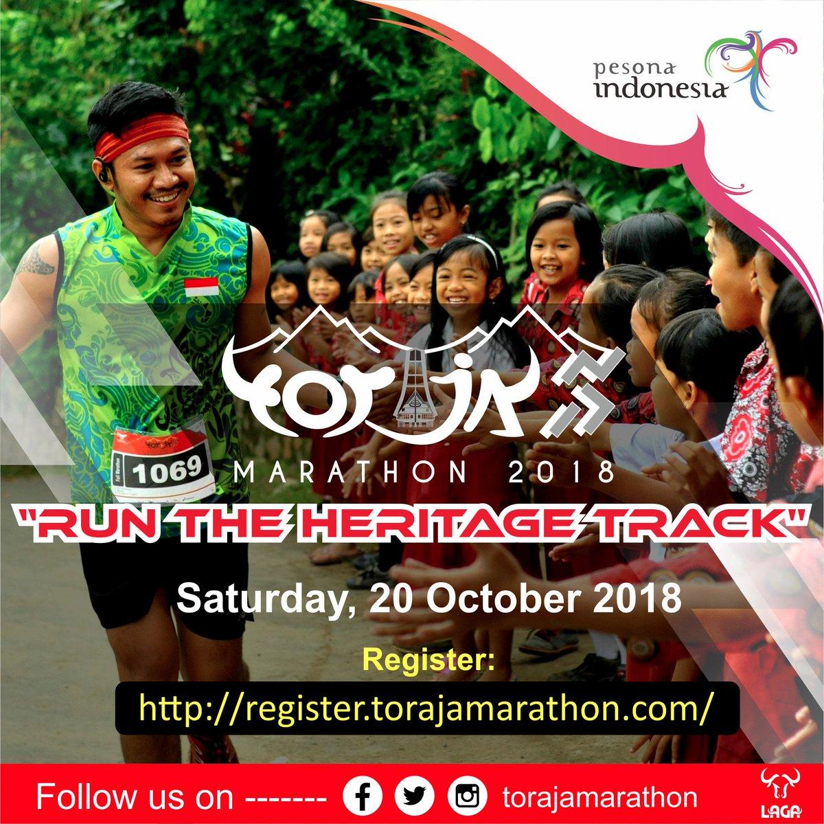 Toraja Marathon • 2018
