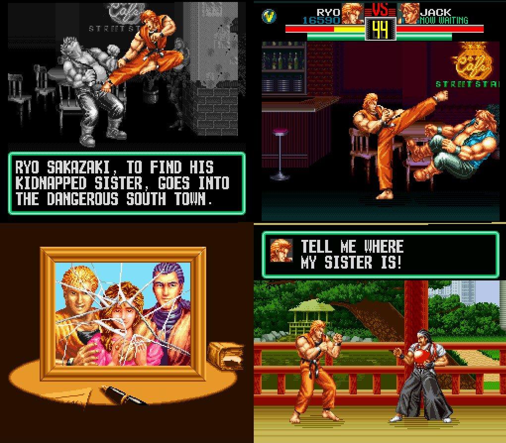 Retro Game Geeks On Twitter Snes Sunday Art Of Fighting In 1993