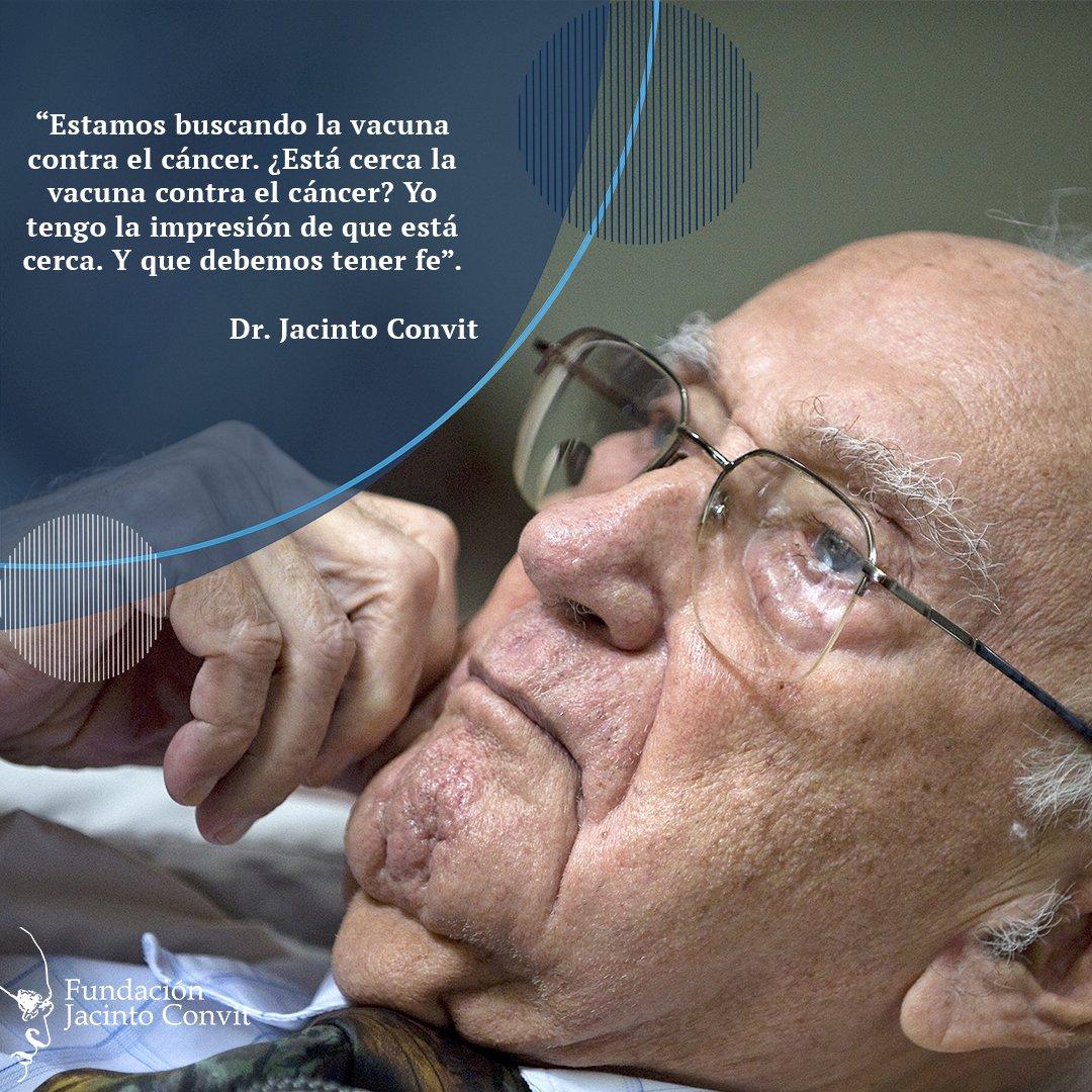#DíaMundialContraelCáncer Reflexiones Dr. Jacinto Convit <br>http://pic.twitter.com/bJJOf1CeLn