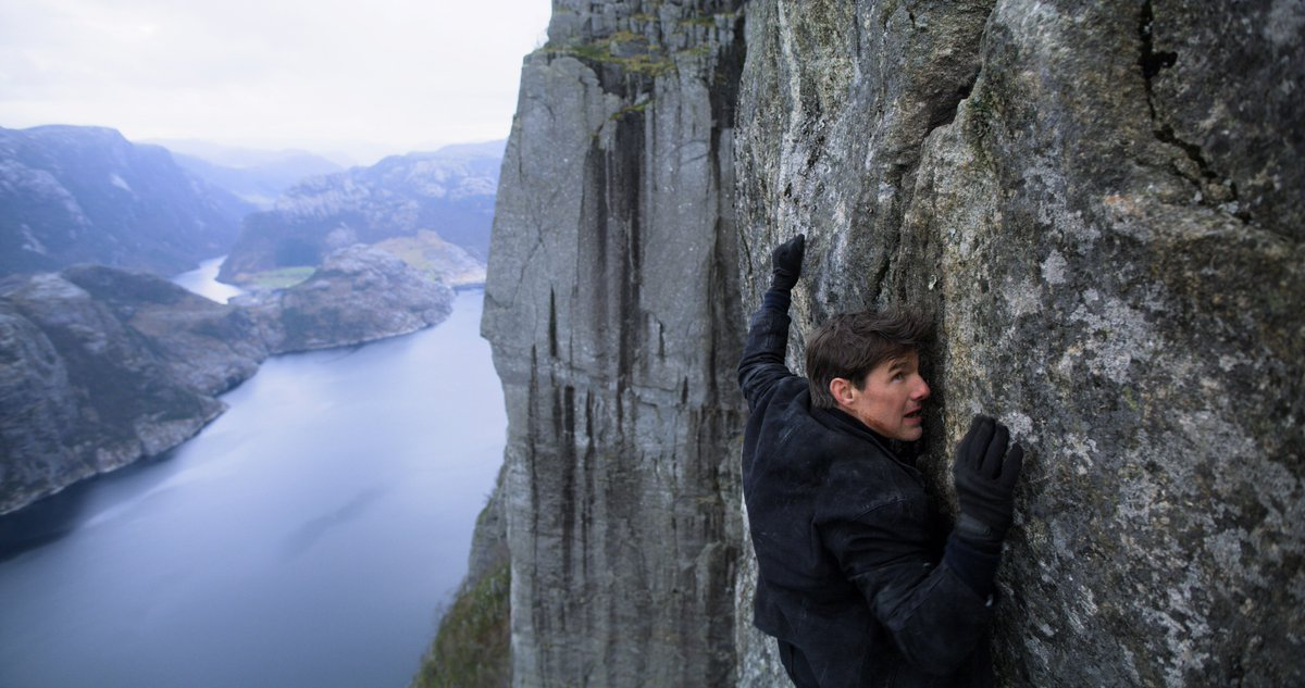 #MissionImpossible trailer drops later today. I'm so excited for you all to see it.