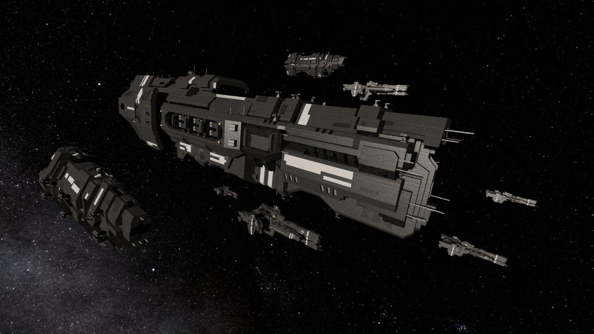 Sins Of The Prophets Ar Twitter Interestingly There Is A Small But Pretty Dedicated Contingent Of Halo Ship Fans In The Space Engineers Gaming Community That Recreates Halo Ships And Stations Including