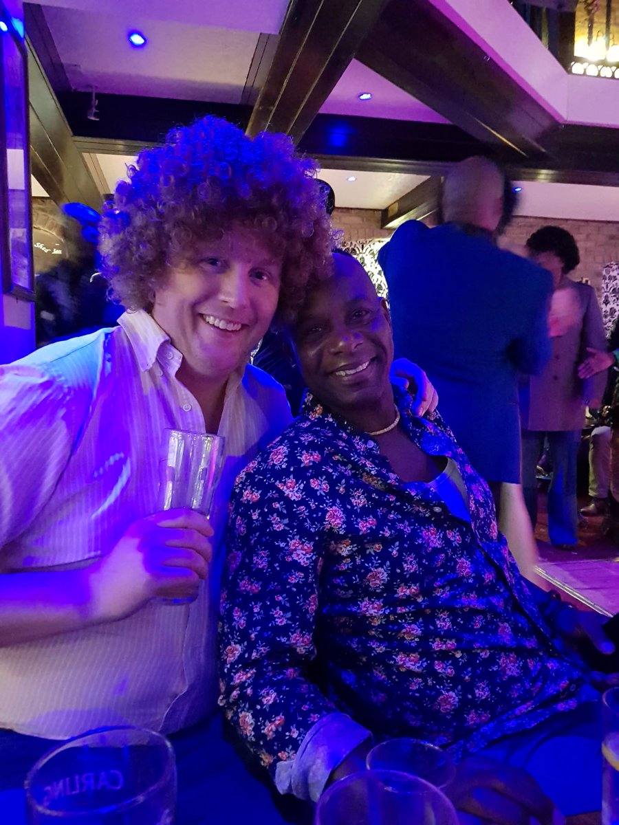 Finally got around to watching @89thefilm on Friday - really excellent. Huge congrats to @amylawrence71. Perfect timing before catching up with Mickey T at @deanobri1968s disco themed birthday yesterday! #Arsenal #89