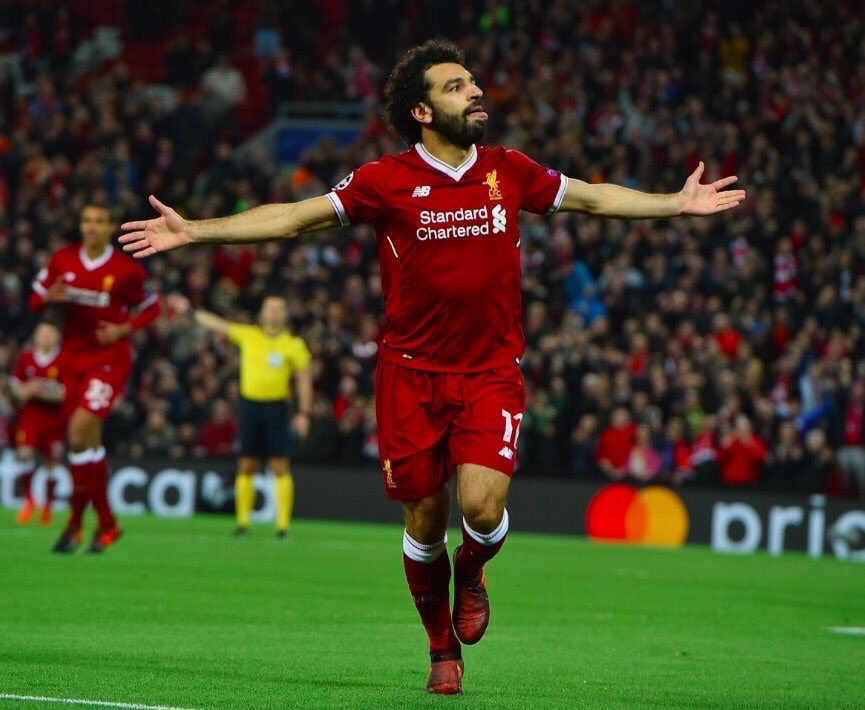 Mohamed Salah now has 49 goals in 89 lea...