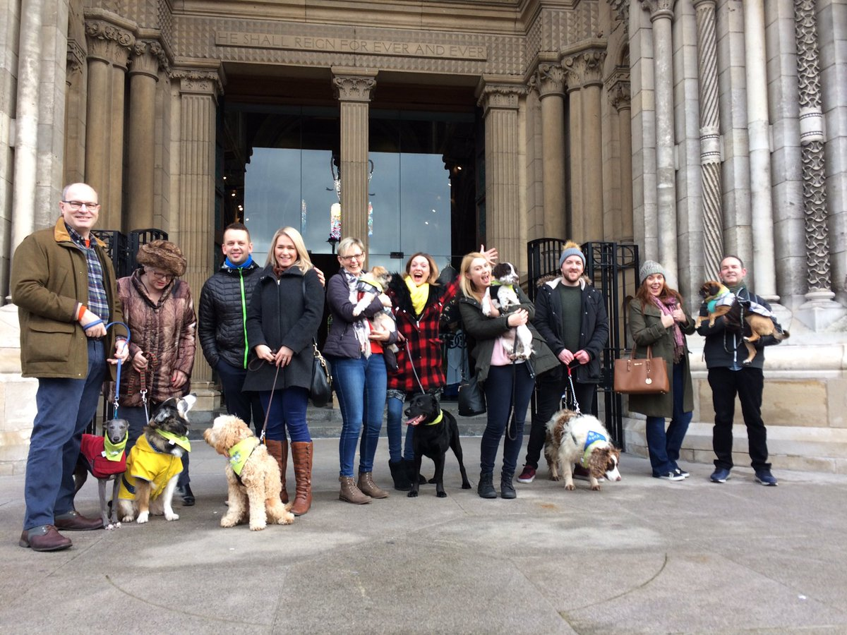 Another great bunch of #dogs and humans on tour today! #dogfriendlytours