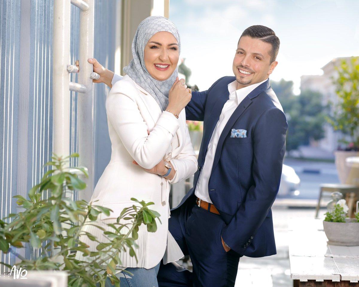 نتيجة بحث الصور عن مجد ناجي وزوجته