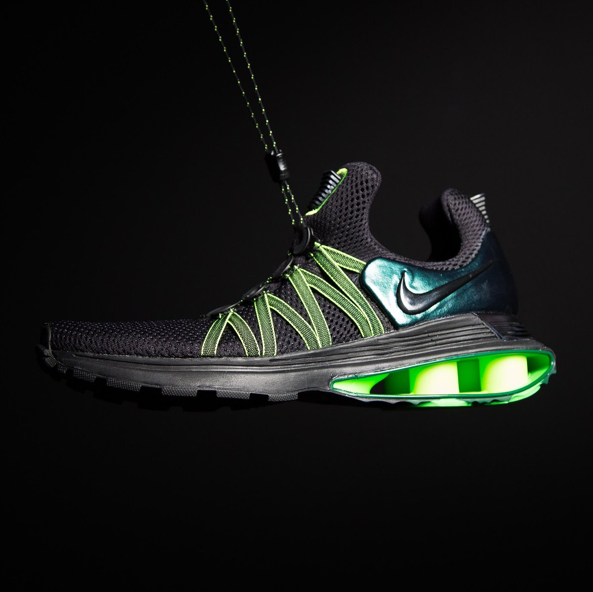 best website f5e18 2812c elevate nike shox gravity now available at champs