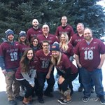 Flexjet is greeting each arriving flight at #ICAO #KMSP with ground teams clad in merlot #SuperBowl themed jerseys.