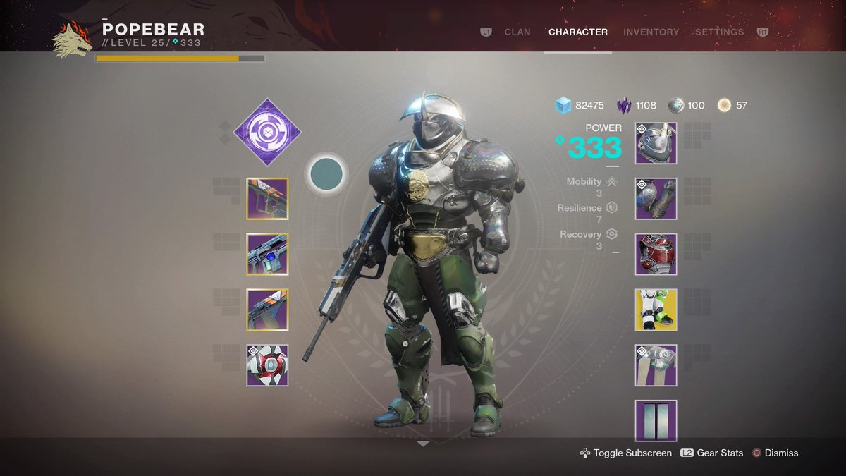 destiny 2 forsaken titan build