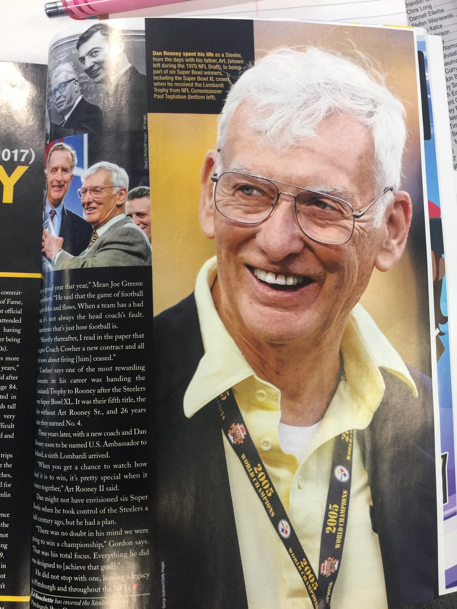 Missing Dan Rooney Always But Especially Today My Favorite Part Of Super Bowl Sunday Every Year Was Visiting With Him Before Kickoff EdBouchette