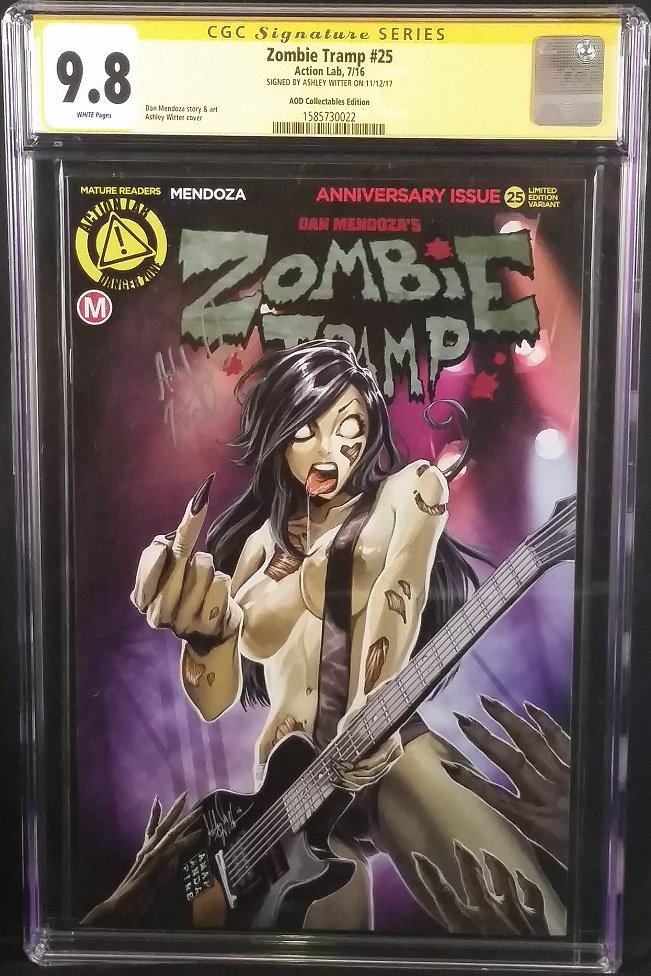 Art Comics Toys On Twitter Action Lab Comics Zombie Tramp 25