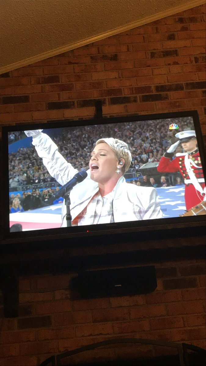 @TheEllenShow @Pink As far as I'm concerned the game is over. @Pink killed it!
