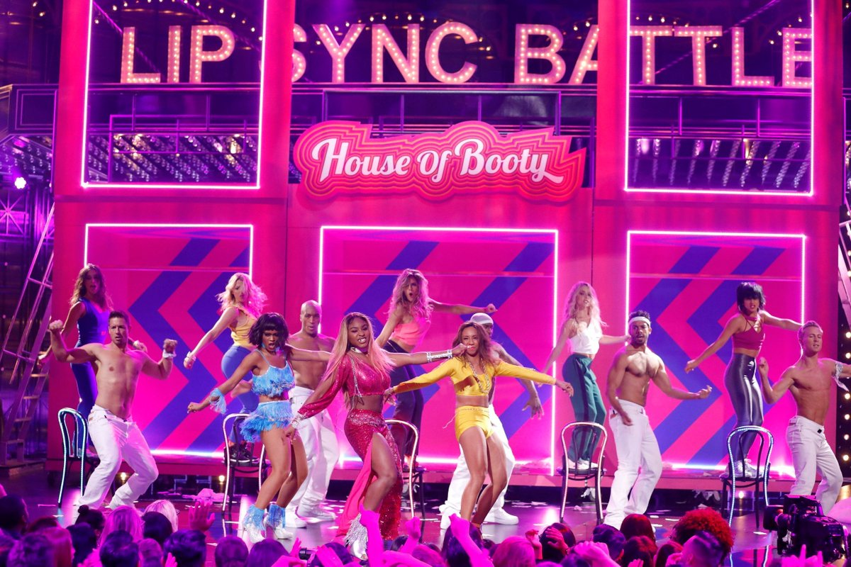 Watch @FifthHarmony Battle It out on 'Lip Sync Battle' https://t.co/g62HauVR3N #5H #FifthHarmony #Harmonizers