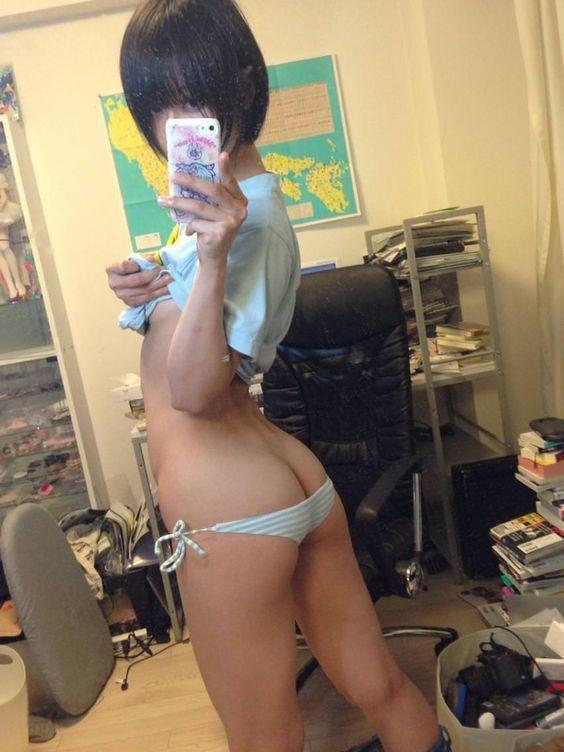 Gf naughty standing naked