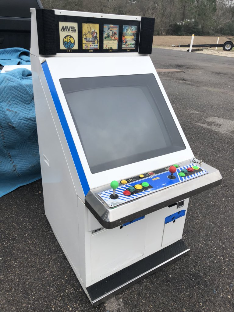 arcadeology on twitter picked up a japanese neo geo candy cab
