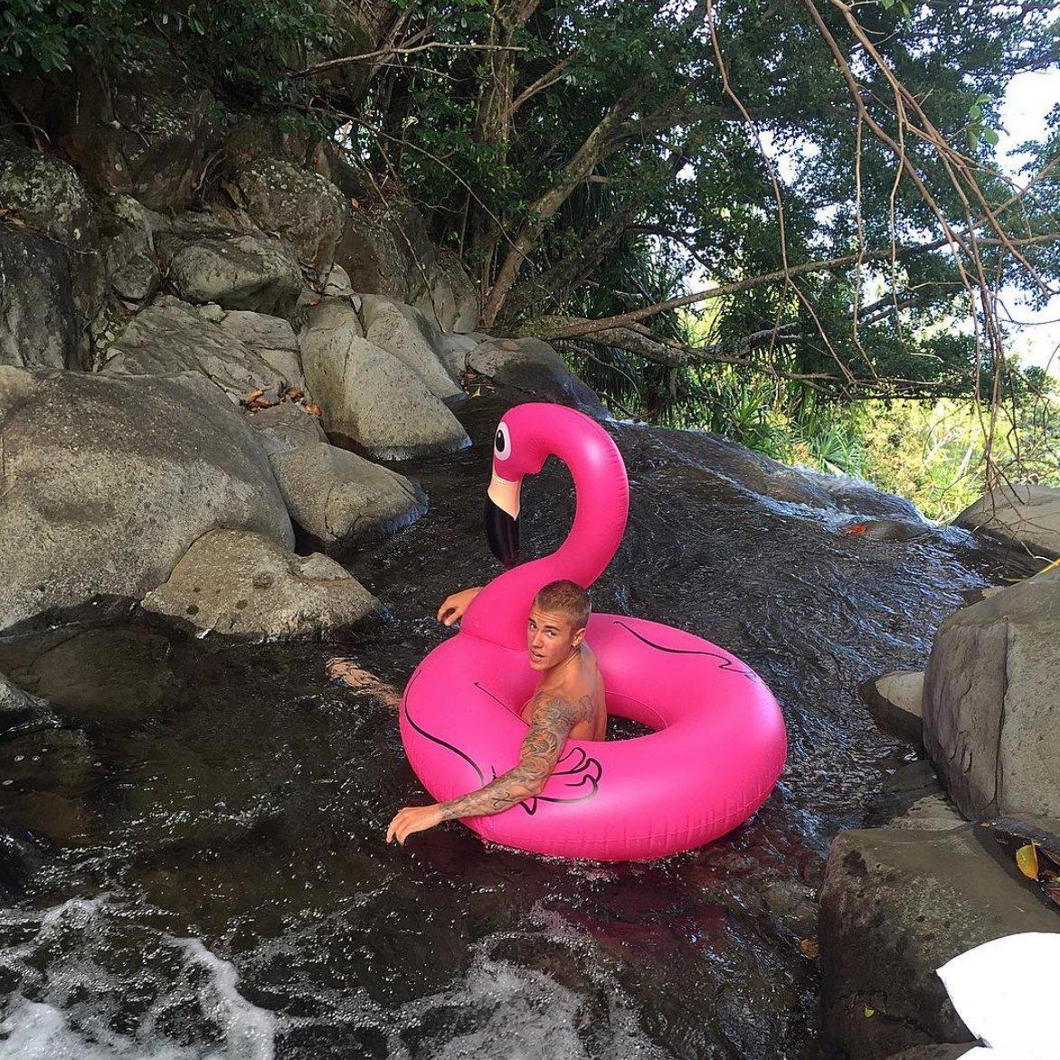 RT if you wish you were that swan. #Beliebers #BestFanArmy #iHeartAwards