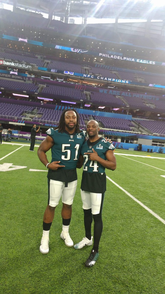 Congratulations Philadelphia Eagles and our Buffalo guys  & Corey Graham  (thanks for the pix guys)