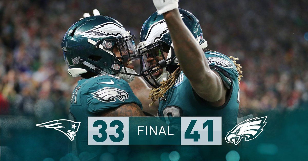 WE DID IT, PHILLY!  #SBLII | #FlyEaglesFly