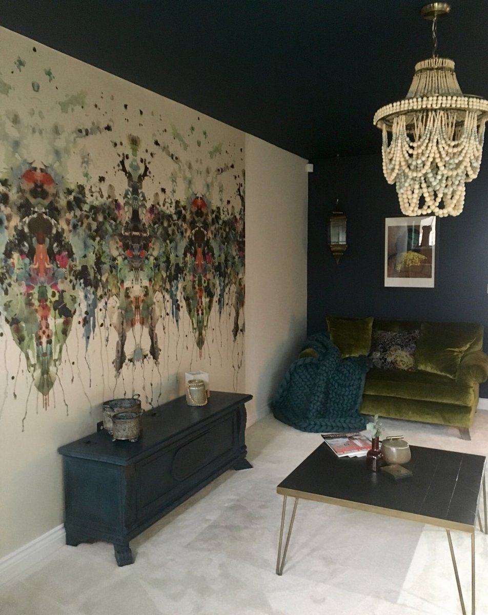 Timorous Beasties On Twitter Make A Feature Of Your Walls With Our Wallpaper Panels Loveallthingsquirky Recently Installed Kaleido Splatt Superwide