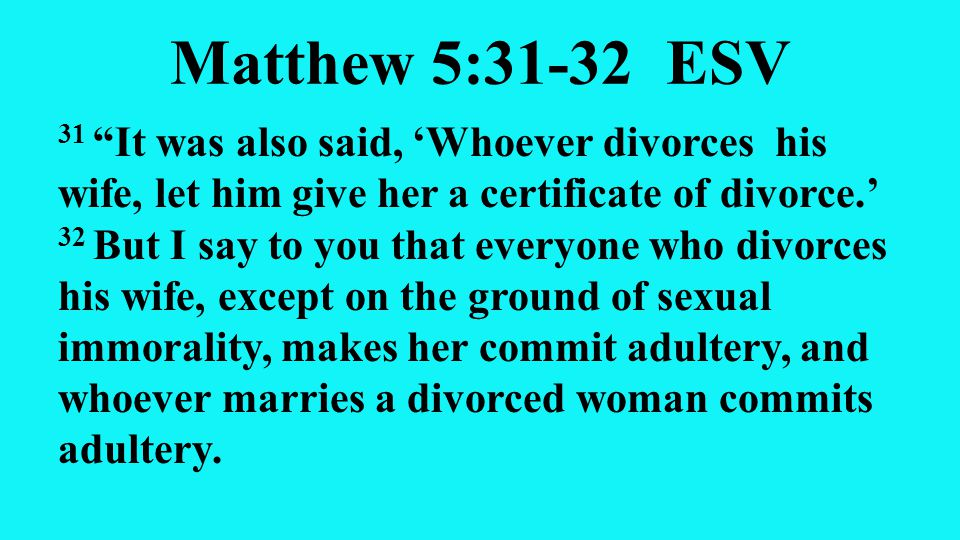 Is it wrong to marry a divorced woman