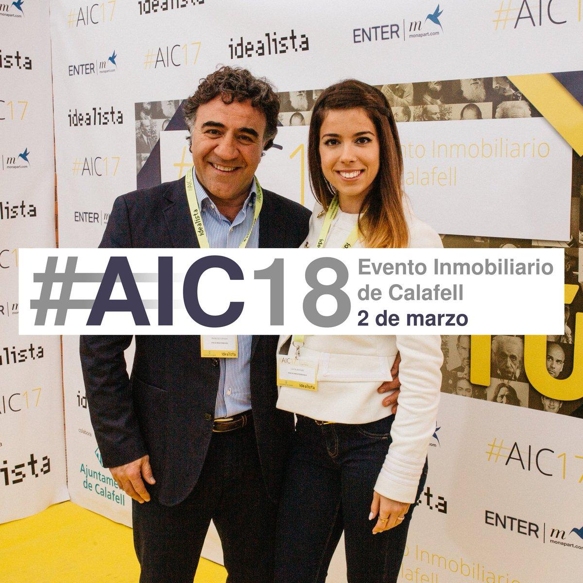 Recuerdos de #AIC17 🖤 #AIC18 #Calafell #Inmobiliarios
