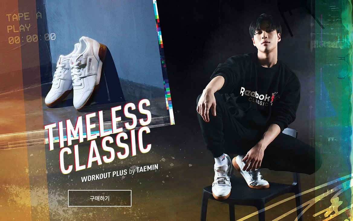 21aed0ca379d17  OFFICIAL  180205  Taemin - Reebok  Always Classic  Campaign http   shop. reebok.co.kr brand campaign view.action pn Workout Plus … (3P)  1.pic.twitter.com  ...