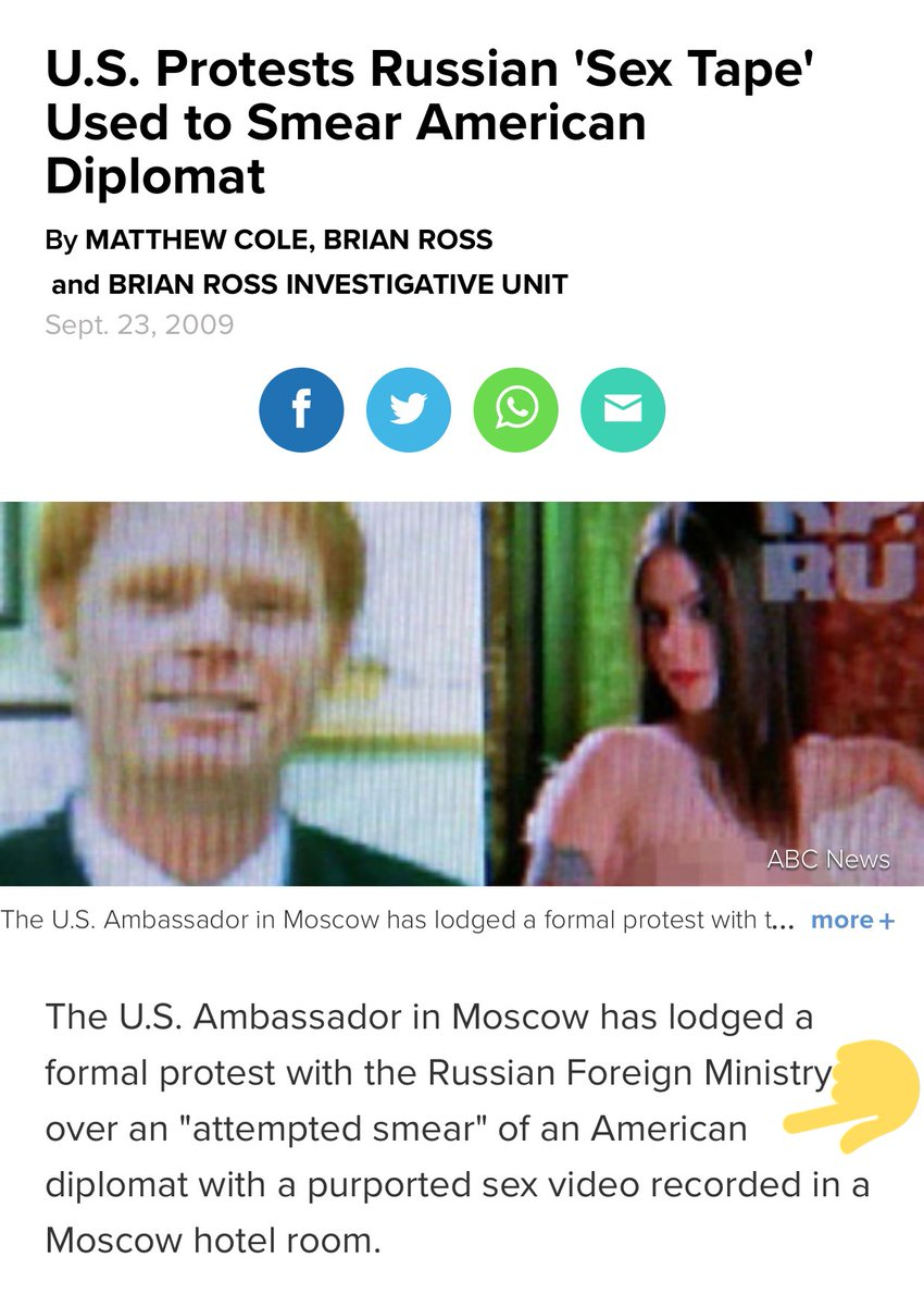 American diplomat russia sex tape