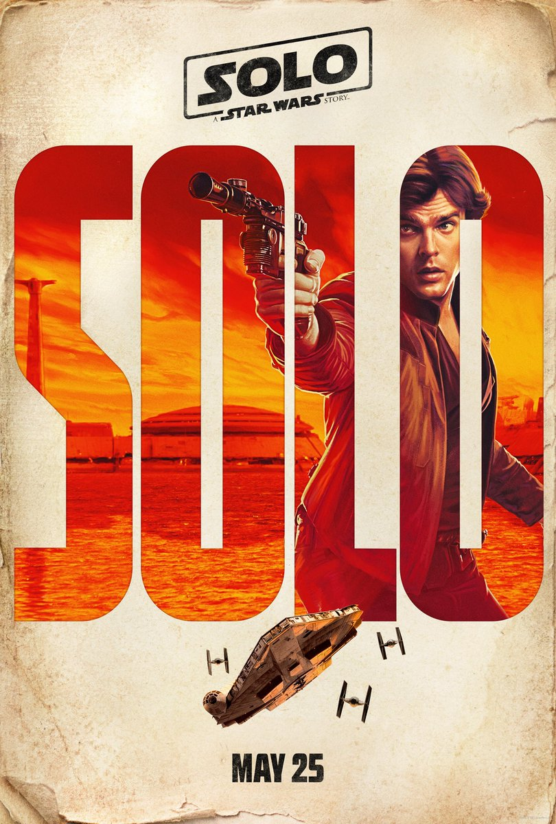 Check out the four new teaser posters featuring Solo, Lando, Qi'ra, and Chewbacca. #HanSolo