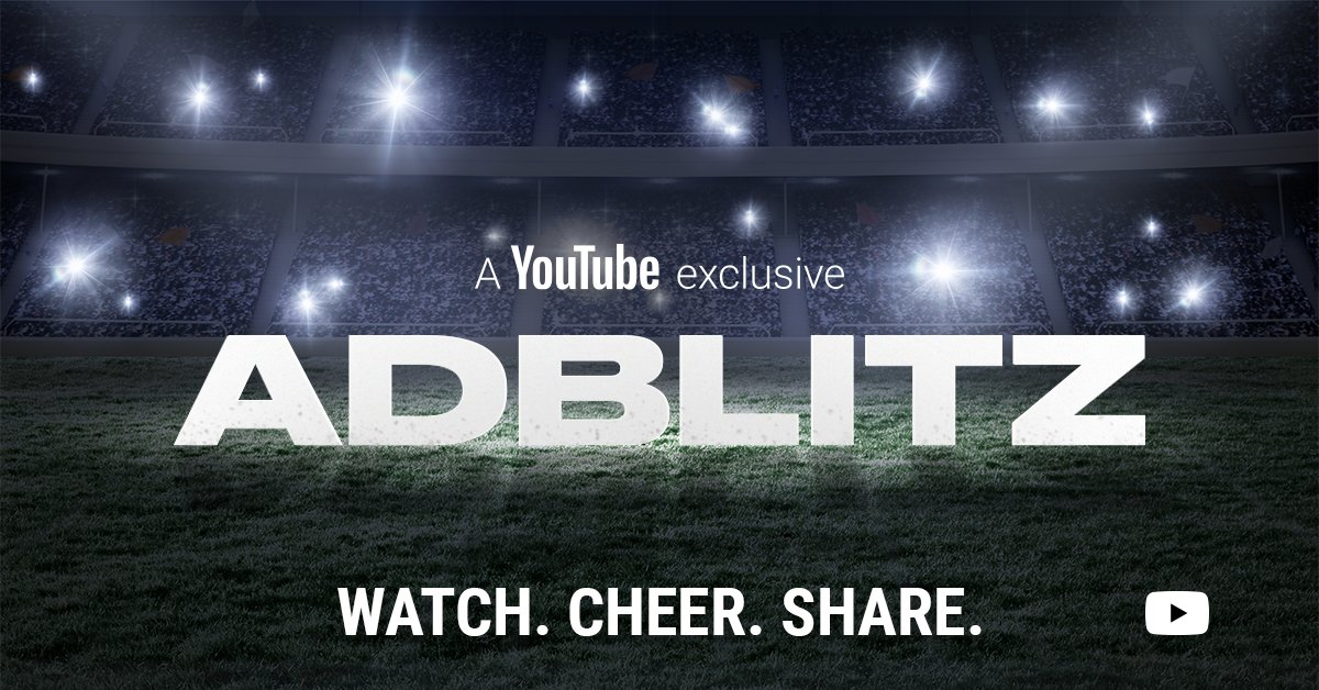 """#AdBlitz is still open. Cheer on top brands and agencies and choose your  favorite game day spot now → https://t.co/C3ynDHZmEz…  https://t.co/x2wfwmculX"""""""