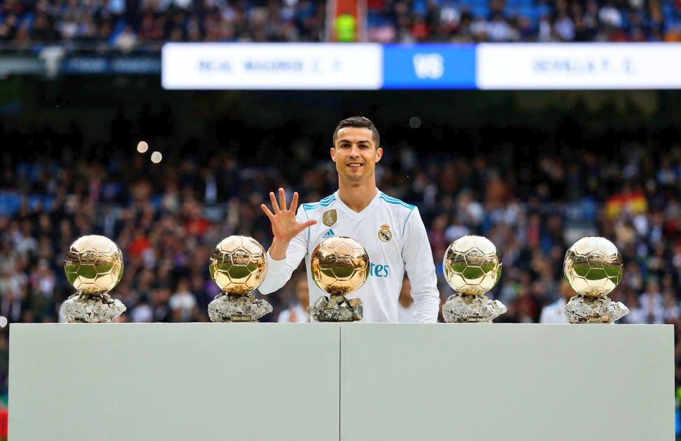 🎉 Happy 33rd Birthday @Cristiano Ronaldo! 🗓� 746 Games 🇵🇹 147 Caps ⚽� 628 Goals � 4x Champions Leagues � 3x Premier Leagues � 3x Club World Cups � 2x La Ligas � 1x Euros 🥇 5x Ballon dOr 🥇 4x Golden Boots 🥇 3x UEFA Player of the Year �