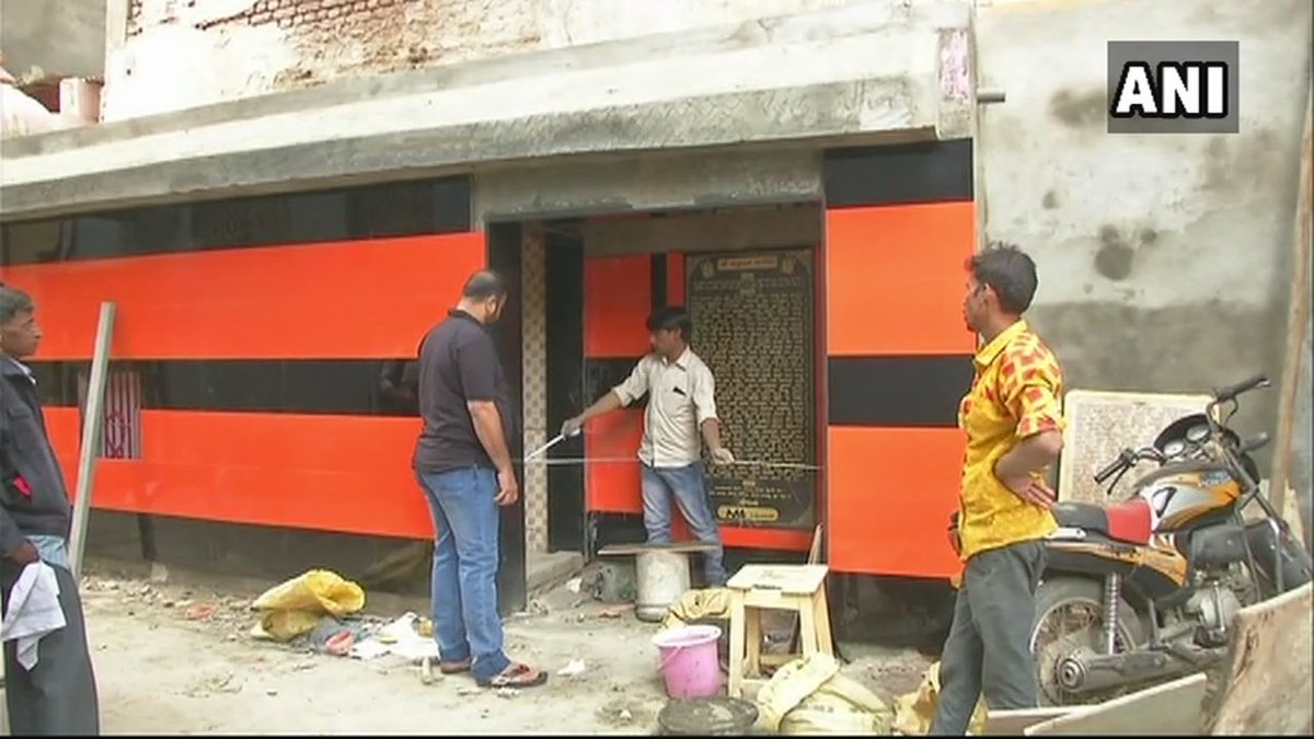 Ani On Twitter Moin Memon An Ahmedabad Resident Has Undertaken  # Renovation Bahut