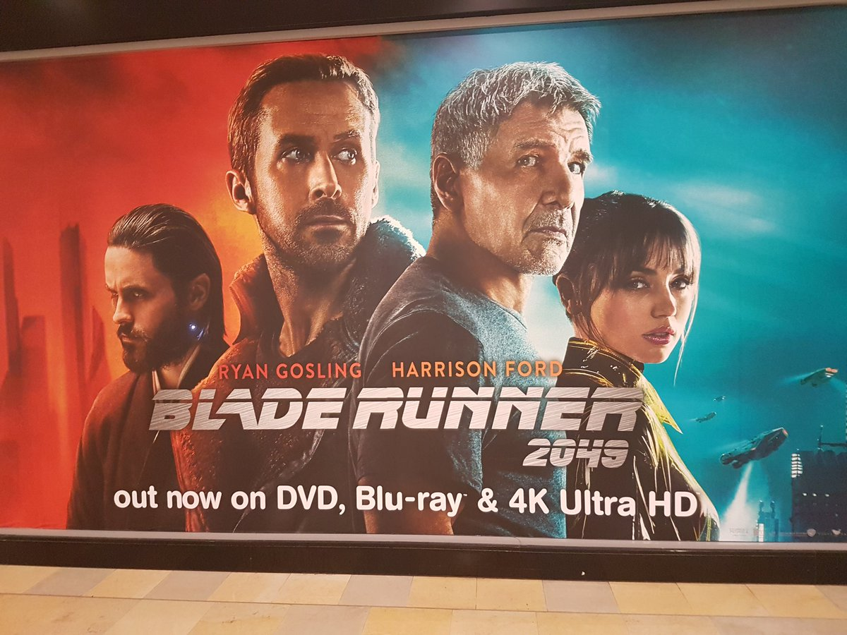 Hmv Edinburgh On Twitter Bladerunner2049 Is Out Now 9 99 For