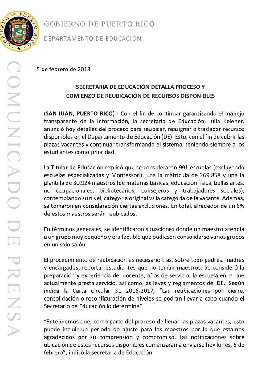 Dpto. de Educación on Twitter: \