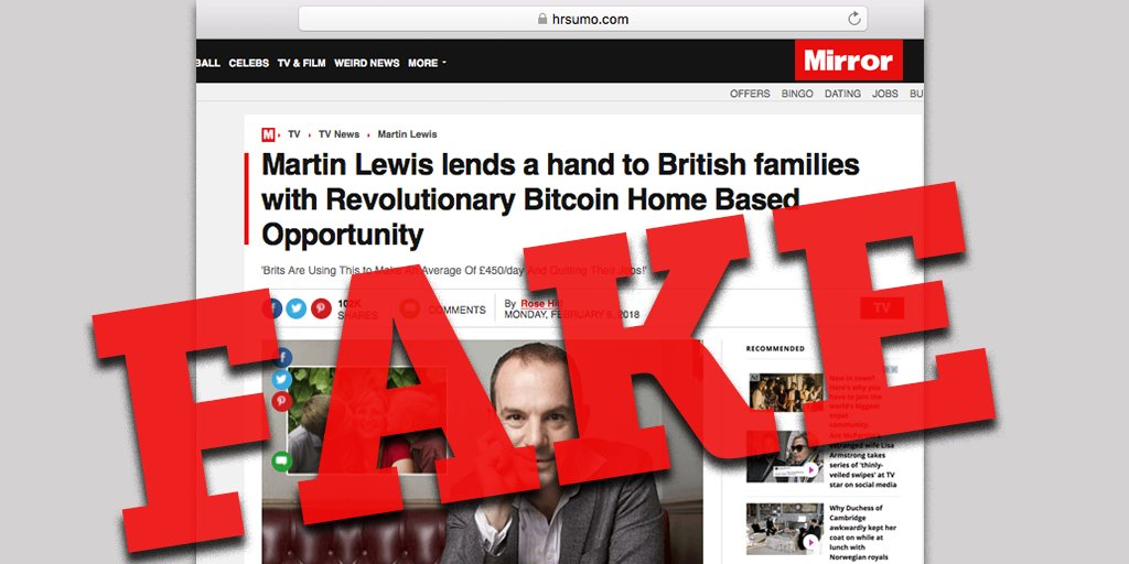 Money saving expert on twitter weve come across another fake money saving expert on twitter weve come across another fake martinslewis ad only this time disguised as a newspaper story learn how to spot fake ads ccuart Image collections
