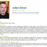 #SuccessStory #Alumni @ISEP : Julien Simon (Promo 1994), ex Chief Technology Officer chez @Viadeo et désormais Evangelist @awscloud.  Il nous conseil de faire l'effort d'apprendre tous les jours grâce aux ressources nombreuses dont nous disposons.