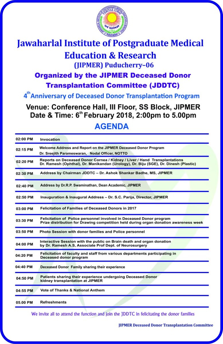 Nephrology Dept, JIPMER, Pondicherry IN on Twitter: