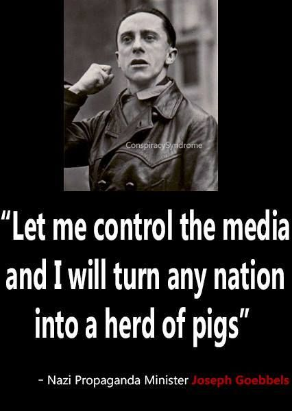 Image result for hitler said about the media